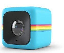 "Cube - BleuUSB poche Micro SD Bleu étanche Caméra sport 1.7"" 32 Go 6 Mpixel"