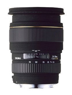 Objectif zoom 24-70mm F2,8 DG MACRO EX pour NikonReflex Nikon