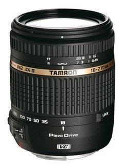 18-270mm F/3.5-6.3 Di II VC PZD pour CanonCompatible Canon De F/3.5 à F/4.4 Téléobjectif Reflex Canon