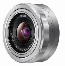Lumix G Vario 12-32 mm F/3.5-5.6 ASPH. Mega OIS - ArgentArgent Transtandard 12mm Compatible Panasonic 32mm