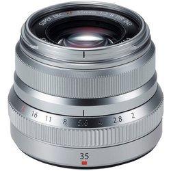 XF 35mm F/2 R WR - Silver Silver Focale fixe 35mm Compatible Fujifilm 35mm