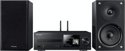 X-HM76D - NoirBluetooth 2 x 50 Watts USB Wifi Micro-chaîne CD RCA Avec Tuner DNLA