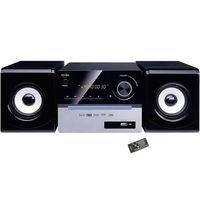 CH11CD-BTH 2 x 25 Watts Bluetooth USB CD/CD-R/CD-RW/CD MP3 avec télécommande Radio FM Ecran LED Mini Chaîne Hi-fi Bluetooth