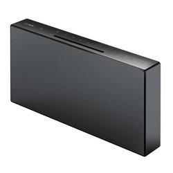 CMT-X3CD - NoirPort USB Bluetooth USB Tuner RDS NFC Lecteur CD, MP3 avec télécommande 20 Watts Fonction réveil Enceinte