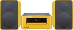 CS 265 - JauneChaîne compacte CD Port USB Bluetooth USB Tuner RDS 40 Watts Lecteur CD, MP3 avec télécommande Radio FM