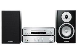 MCR-N670 - SilverPort USB 2 x 65 Watts Bluetooth CD/CD-R/CD-RW/CD MP3 Micro chaîne avec télécommande DLNA Radio FM Wi-fi Radio Internet WMA