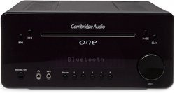 One V2 - Black 2 x 30 Watts Bluetooth USB Radio FM Jack 3.5 mm Lecteur CD/MP3/WMA Systèmes HIFI