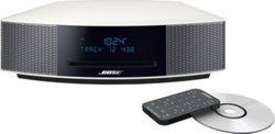 Wave Music System IV Dab - BlancPort USB Port Ethernet Tuner AM/FM Chaîne HI-FI Lecteur CD, MP3 avec télécommande Ecran LCD intégré