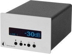 Stereo Box DS - Silver2 x 40 Watts 90 dB 10 Hz à 50 KHz 4 x Entrées DIN / RCA