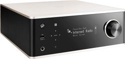 DRA-100 - Silver2 x 70 Watts 2 x Entrées RCA Amplificateur stéréo wifi Bluetooth DAC Avec port USB Port Ethernet