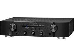 PM6006 - Noir2 x 45 Watts 1 x Entrée coaxiale numérique 2 x Entrées optiques numériques 83 dB Amplificateur stéréo 10 Hz à 70 KHz 1 x Sortie audio analogique 4 x Entrées audio analogique