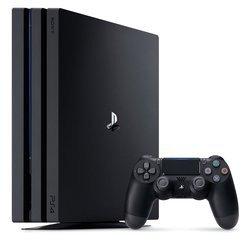 PS4 Pro 1 To - Noir1 To Noir Console Seule Playstation 4 Pro