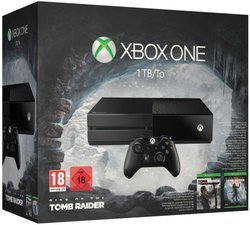 Xbox One 1 To + Rise of the Tomb RaiderXbox One 1 To Pack Xbox One Vendu Avec un Jeu
