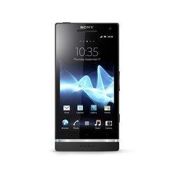 Xperia S - NoirBluetooth Monobloc compatible MP3 smartphone avec GPS avec écran tactile avec WiFi 3G+ 32 Go Android avec APN 12 Mpixels 4,3 pouces avec sortie HDMi avec micro-paiement NFC 1 Go