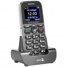 Primo 215 - GrisBluetooth Monobloc MicroSD Jack 3.5 mm Téléphone portable 1,7 pouces 83,0 g