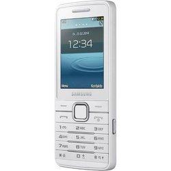 S5611 - BlancMonobloc MicroSD 91 g avec APN 5 Mpixels 2,4 pouces Jack 3.5 mm USB MP3 FM 3G+ Téléphone portable Bluetooth 3.0 108 Mo