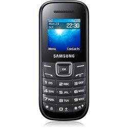 GT-E1200 - NoirMonobloc Noir téléphone portable senior 1,8 pouces 156 MHz 65,1 g
