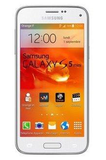 c5b560e996e Galaxy S5 Mini SMG800F - BlancMonobloc smartphone MicroSD avec GPS 16 Go  avec APN 8 Mpixels