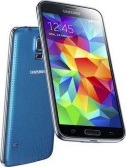 5018937ba39 Galaxy S5 - BleuMonobloc smartphone MicroSD avec GPS 16 Go 4G avec WiFi  Android Bluetooth 4