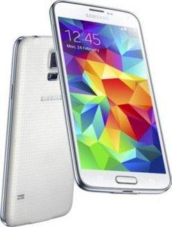 Galaxy S5 - BlancMonobloc smartphone MicroSD avec GPS 16 Go 4G avec WiFi  Android Bluetooth 4 d37314599fdf