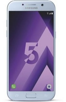 Galaxy A5 32Go (2017) - Bleu smartphone MicroSD avec WiFi 32 Go Android 4G LTE Bluetooth 4.1 avec APN 16 Mpixels 5,2 pouces Galaxy A5