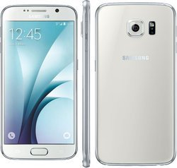 Galaxy S6 32Go - Blanc AstralMonobloc smartphone avec GPS 4G avec WiFi 32 Go 132 g Jack 3.5 mm Micro USB Bluetooth 4.1 5,1 pouces avec APN 16 Mpixels 2,1 GHz Galaxy S6 Exynos 7420 Octo-Core