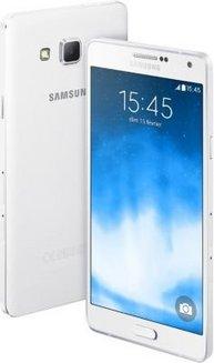 Samsung Galaxy A7 - Blanc. Galaxy A7 - BlancMonobloc smartphone 16 Go 4G  avec WiFi avec APN 5 Mpixels microSD High 3ce5f10a0b85