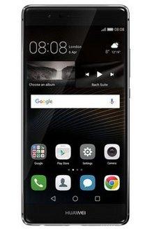 P9 32Go - NoirMonobloc MicroSD avec GPS avec WiFi 32 Go avec APN 13 Mpixels Bluetooth 4.0 Jack 3.5 mm Micro USB NFC Octo core Téléphone portable 144 g 5,2 pouces