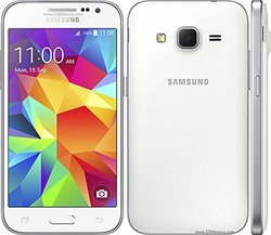 Galaxy Core Prime SM-G360 - BlancMonobloc smartphone MicroSD avec GPS avec WiFi avec APN 5 Mpixels 8 Go Android Bluetooth 4.0 Micro USB 1.2 Ghz NFC 4,5 pouces FM Qualcomm Snapdragon 410