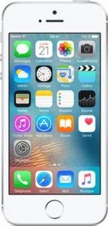 iPhone SE 32Go - Silversmartphone avec GPS iOS 4 pouces 4G avec WiFi 32 Go avec APN 12 Mpixels NFC Bluetooth 4.2 iPhone SE