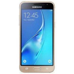 Galaxy J3 8Go - Or (2016)Monobloc smartphone MicroSD avec GPS avec APN 8 Mpixels avec WiFi 8 Go 5 pouces Quad-Core 1,5 GHz Radio FM Jack 3.5 mm Bluetooth 4.1 USB 2.0