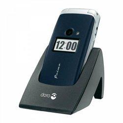 Primo 413 - BleuClapet avec APN 2 Mpixels MicroSD 2,4 pouces 115,0 g Radio FM Jack 3.5 mm Micro USB MP3 Bluetooth 3.0 Classique