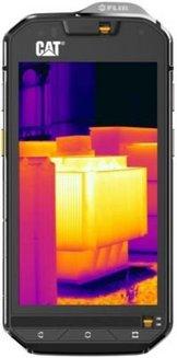 Cat S60 32Go - Noirsmartphone 4G avec WiFi 32 Go 4,7 pouces avec APN 13 Mpixels Bluetooth 4.1 double carte SIM Micro SD jusqu'à 200Go Qualcomm MSM8952 Octo-core 225 g