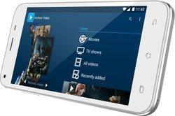 55 Helium 16Go - BlancBluetooth avec APN 2 Mpixels MicroSD avec GPS 16 Go avec WiFi Android 5,5 pouces Smartphone Double SIM 4G LTE