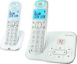 T l phone fixe alcatel versatis xl350 pas cher prix clubic - Telephone fixe sans fil longue portee ...