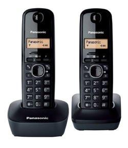 Téléphone fixe Panasonic KX-TG1612 Duo - Noir pas cher   Prix   Clubic 12ad86c68bb5