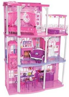 Fabuleuse maison rose de Barbiedès 3 ans Barbie