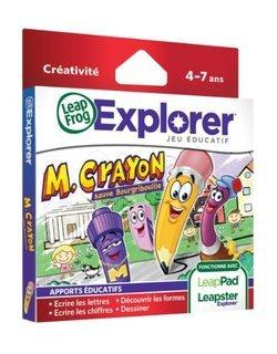 89014 - LeapPad / Leapster Explorer Mr Crayondès 4 ans