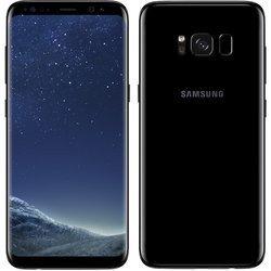 Galaxy S8 64 GO - Noir CarboneMonobloc smartphone MicroSD avec GPS avec WiFi avec stabilisateur d'image Android avec APN 12 Mpixels 64 Go 4G LTE Octa Core 2,3 GHz 4 Go Galaxy S8 5,8 pouces Bluetooth 5.0 Noir Carbone