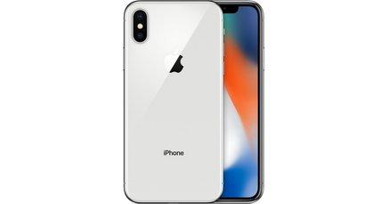 iPhone X Argent 64GoMonobloc Edge compatible MP3 smartphone 3G avec autofocus avec GPS iOS avec écran tactile avec WiFi 3G+ 3G++ avec stabilisateur d'image avec détection des visages avec APN 12 Mpixels avec double flash LED 4G LTE 4G 3 Go avec zoom optique WiFi 4G Etanche 174 g Avec double APN Tactile 5,8 pouces Bluetooth 5.0 iPhone X A11 Reconnaissance faciale 21h 64 Go Argent