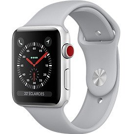 Watch Series 3 GPS + Cellular (38mm) Aluminium ArgentApple Watch Series 3 38mm Aluminium Argent