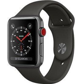 Watch Series 3 GPS + Cellular (38mm) Aluminium Gris SidéralApple Watch Series 3 38mm Aluminium Argent
