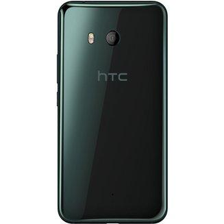U11 NoirMonobloc compatible MP3 smartphone avec autofocus MicroSD avec GPS avec écran tactile avec WiFi avec stabilisateur d'image avec détection des visages Android avec APN 12 Mpixels avec double flash LED 64 Go 168 g 5,5 pouces 4G LTE Bluetooth 4.2 4 Go WiFi 4G Classique Tactile Qualcomm Snapdragon 835 HTC U11 2.45 GHz Noir