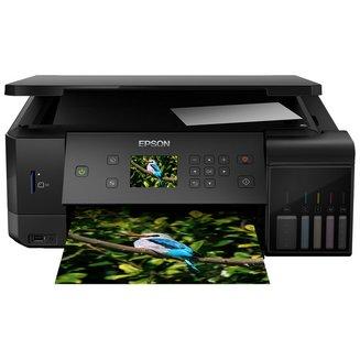 EcoTank ET-7700Jet encre A4 Ethernet multifonctions sans fax 32 ppm en noir et blanc WiFi USB 2.0 papier ordinaire Jet d'Encre Multifonction Mac PC Papier Photo Enveloppe RJ-45 5760 x 1440 dpi 1200 x 2400 dpi papier glacé 8 kg