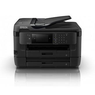 WorkForce WF-7720DTWFJet d'Encre A4 Ethernet multifonctions 20 ppm en couleurs 32 ppm en noir et blanc WiFi USB 2.0 4800 x 1200 dpi 1200 x 2400 dpi NFC