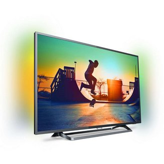 55PUS6262TV LED 3 x HDMI 100 Hz 139 cm 55 pouces Ultra HD 4K 3840 x 2160 pixels USB Wi-Fi 1 x Port ethernet HDCP Miracast
