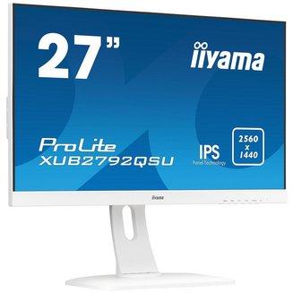 ProLite XUB2792QSU-W1avec haut-parleurs intégrés 178° 178° 5 ms 350 cd/m² 27 pouces 5 000000:1 2560 x 1440 (WQHD) 6,1 Kg 16:9 IPS 1 x HDMI WQHD Antireflet Haut-parleurs 3 an(s) Hub USB 1 x DVI-D 1 x DisplayPort 70 Hz