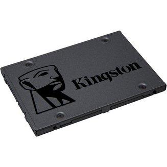 A400 - 480 Go SATA III (SA400S37/480G)Interne SSD Serial ATA III PC 480 Go 2 an(s) 500 MBps 450 MBps 41 g