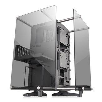 Core P90 Tempered Glass Edition (Fenêtre)Boitier moyen tour ATX Micro ATX Acier Noir sans alimentation Oui Oui 4 x 120mm Mini ITX 3 x 140mm 5 3 Verre trempé 180 mm 615,0 mm 470,0 mm 470,0 mm 17,2 kg