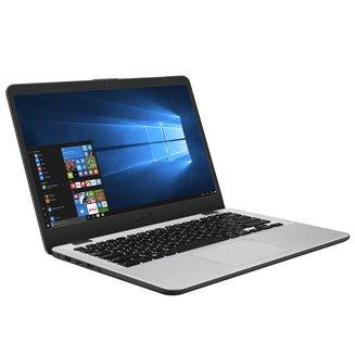 VivoBook 14 S405UA-BV706T - Gris14 pouces 1 To 4 Go 1366 x 768 Dual-core (2-Core) Ordinateur Portable 128 Go 3 Cellules 4 Go Gris 2 an(s) Intel Pentium IEEE 802.11ac 1,42 kg Intel Pentium 4405U Intel HD Graphics 510 Windows 10 64 bits Bluetooth 4.2